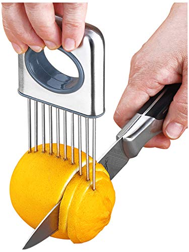 Lemon slicer fruit splitter onion cut stainless steel ultra-thin household cutting vegetables auxiliary tools kitchen accessorie