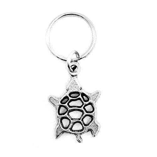 Delta Zeta Metal Mascot Keychain (Turtle)