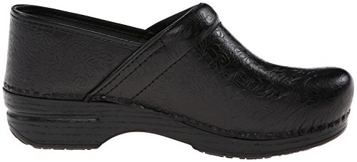 Mule Black Shoe Women's Pro Tooled Dansko Floral XP RqXt7Hw