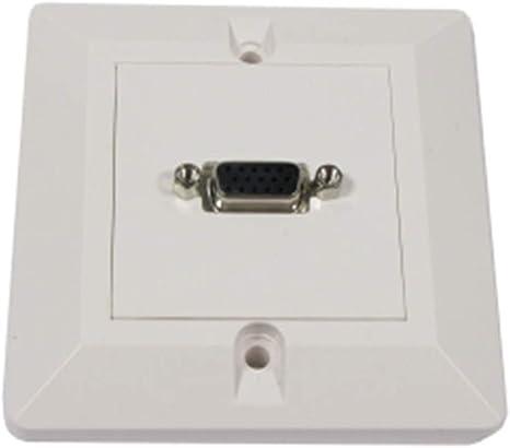 BeMatik - Caja pared canaleta 80x80 1 VGA tipo B: Amazon.es ...
