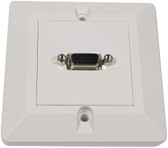 BeMatik - Caja pared canaleta 80x80 1 VGA tipo B: Amazon.es: Informática