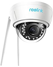 Reolink 5MP Outdoor Wireless Security Camera, Dual Band 2.4/5 GHz WiFi, 4X Optical Zoom Night Vision, IP66 Waterproof Surveillance System, AutoFocus, Motion Detection, RLC-422W