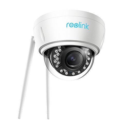 Reolink 5MP Wireless Security IP Camera - 2.4/5Ghz Dual Band WiFi Camera | 4X Optical Zoom | Indoor Outdoor | Autofocus | Night Vision, RLC-422W