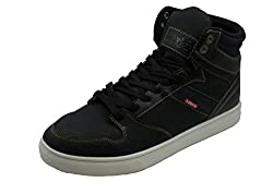 Levis Mens Brentwood Casual Fashion Sneakers (Black/Indigo) (10)
