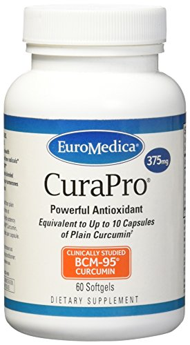 Euromedica Curaproa Softgels, 60 Count,375 Mg