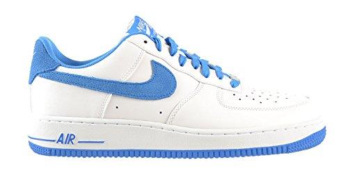 Nike Air Force 1 Men's Shoes White/Photo Blue 488298-148 (8.5 D(M) US)