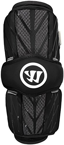 Warrior Burn Arm Guard, Black, Large