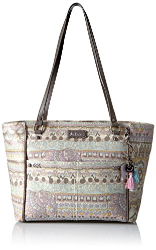 (Sakroots Medium Tote, Pastel one World )