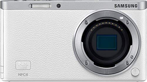 Samsung NX Mini Mirrorless Digital Camera (White Body Only) - International Version (No Warranty) (Samsung Nx Mirrorless Camera)