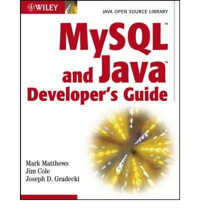 Download MySQL and Java Developer's Guide ebook
