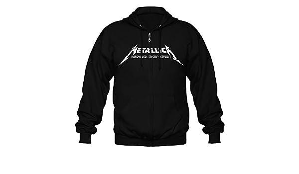 Sudadera Official Metallica Hardwired (Negro) - L: Amazon.es: Ropa y accesorios