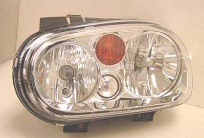 Depo 341-1108L-AS-Y Volkswagen Golf/GTI Driver Side Replacement Headlight Assembly