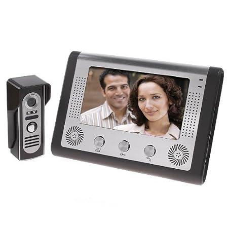 Bw 7 Inch Video Door Phone Doorbell Video Entry System Intercom Kit