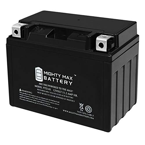Mighty Max Battery 12V 11.2Ah Battery for Honda 750 VT750DC A B Shadow Spirit 2001-2007 Brand Product ()