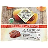 Sunny Fruit Organic Dried Apricots, Pack of 1