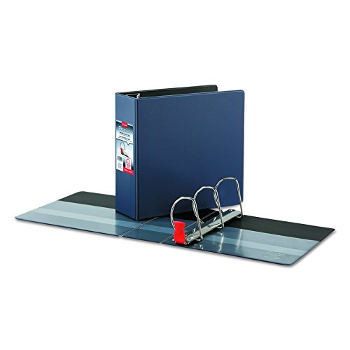 Cardinal Premier Easy Open Locking Slant-D Ring Binder, 4-Inch, Navy (18753) (4 Inch Easy Open D-ring)