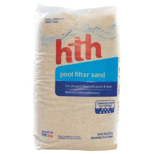 Arch Chemical 61308 HTH Pool Filter Sand, 50-Pound