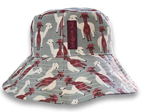 - bungalow 360 Women's Reversible Beach Sun Hat (Alpaca)