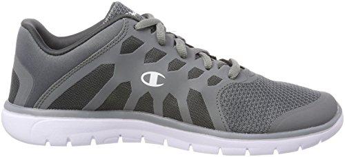 Champion Herren Low Cut Shoe Alpha Laufschuhe Grau (Dark Grey ES013)