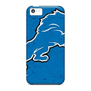 SherriFakhry Iphone 5c Scratch Protection Phone Cover Allow Personal Design High-definition Detroit Lions Pictures [yPN5555aiIa]