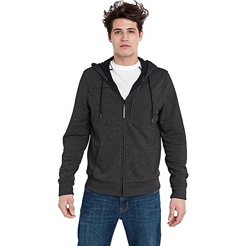 Baubax Travel Jacket Sweatshirt Male Charcoal Large Health And Beauty In The