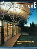 TECHNIQUES ET ARCHITECTURE [No 390] du 01/06/1990 - MAISON INDIVIDUELLES - HOUSES - MICHEL SERRES - MAISON A MILAN - ITALIE - ANTONIO CITTERIO - YVES TISSIER ET B. WAUTHIER-WRUMSER - DONATI-DUBOR - WILSON PARTNERSHIP - JOSE ANTONIO MARTINEZ LAPENA - ELIAS TORRES TUR - M. SAUZET.