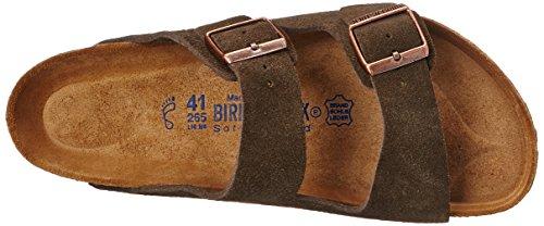 Birkenstock Arizona Soft Footbed Mocha Suede Regular Width - EU Size 35 / Women's US Sizes 4-4.5 by Birkenstock (Image #8)