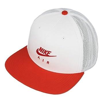 Nike 891299-100 Gorro, Unisex Adulto, Blanco/Rojo Universitario, MISC: Amazon.es: Deportes y aire libre