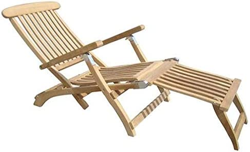 Royal Teak Collection STML Teak Lounging Steamer Deck Chair