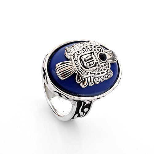 Vampire Fan Art - lureme Vampire Diaries Daylight Walking Signet Damon's Ring for Fans-Q (04001478-2), size 8