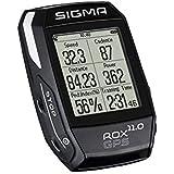 Sigma Sport Fahrrad Computer ROX 11.0 GPS Set Black, Track-Navigation, Smart-Connectivity, Strava, Schwarz
