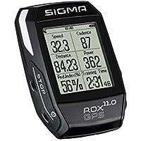 Sigma 01008 Compteur GPS de vélo Mixte Adulte, Noir
