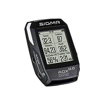 Sigma Sport Rox Gps 11.0 - Set con Ciclocomputador, Color Negro, Talla Unica: Amazon.es: Deportes y aire libre