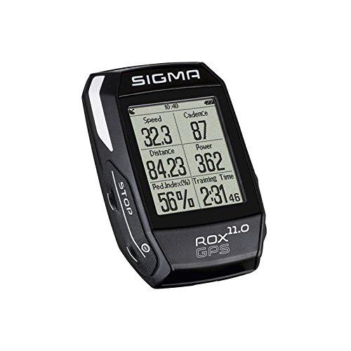Sigma Sport Fahrrad Computer ROX 11.0 GPS Set black, Track-Navigation, Smart-Connectivity, Strava, Schwarz SIGMZ #Sigma 01008