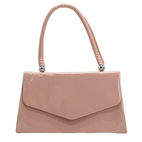 Party Wocharm Bridal Tote Bag Wedding Coral Handbag Ladies Red Clutch Prom Handle Envelope 44q8xr