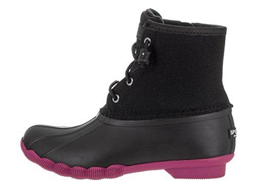 Sperry Top-Sider botas de lluvia de agua salada para las mujeres Negro/Morado