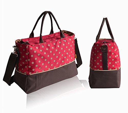 Global- 41 * 18 * 30 cm las mujeres embarazadas multifunción Saliendo mochila, paño de Oxford de cifrado de gran capacidad paquete de la momia, de la manera extraña de viaje esencial multifunción moch # 2