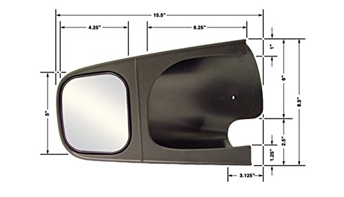 CIPA 10500 Dodge Custom Pair Towing Mirrors 02 Dodge Dakota Mirror