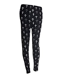 Printed Leggings,Active Running Pants for Women,Fits Most(XS - XL)