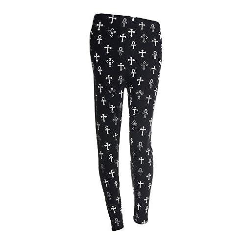 80s printed leggingsactive running pants for womenpremium ultra soft and spring designscross