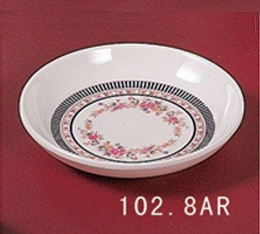(Thunder Group Asian Melamine Rose Sauce Dish, 3 1/2 inch - 60 per case.)