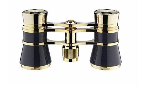 Eschenbach glamour black 3x25 opera binoculars for adults with chain by Eschenbach Optik