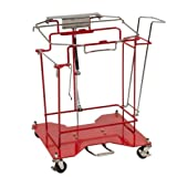 Covidien 8980FP SharpSafety Foot Pedal Cart for Hinged Lid Container, 8 gal Capacity
