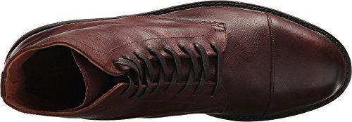 Frye Mens Seth Cap Toe Lace-up Marrone Oliato Tirare Su