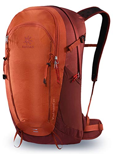 KAILAS Hiking Backpack 30L Ultralight Internal Frame Daypack for Outdoor Camping Trekking(Pomegranate Red) from KAILAS