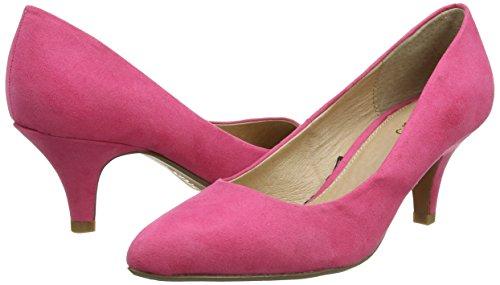 Lotus Clio fuchsia Tacón Pat Morado Fus Con Mujer Punta De Cerrada Zapatos Patent rrxzwtAqd