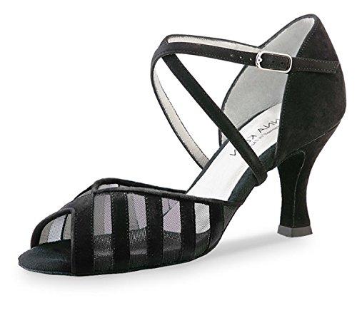 Anna Kern Velour 56960de las mujeres zapatos de baile