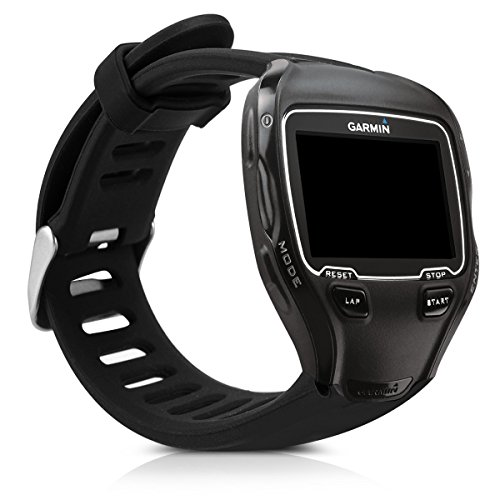 kwmobile Silicone Watch Strap for Garmin Forerunner 910XT -