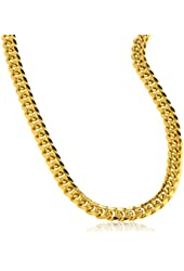 """10k Gold 6mm Miami Cuban Chain Necklace - 9"""" 24"""" 26"""" 28"""" & 30"""" Available"""