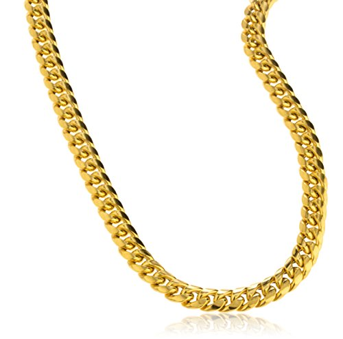 14K Gold 7mm Miami Cuban Chain